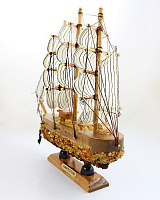 Ship No. 2 With Natural Amber From The Collection