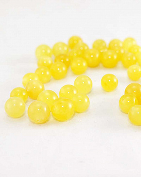 Balls Amber Matte Honey Color From 8 Mm To 10 Mm Superior Grade