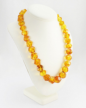 Radiant Beads Of Natural Baltic Amber